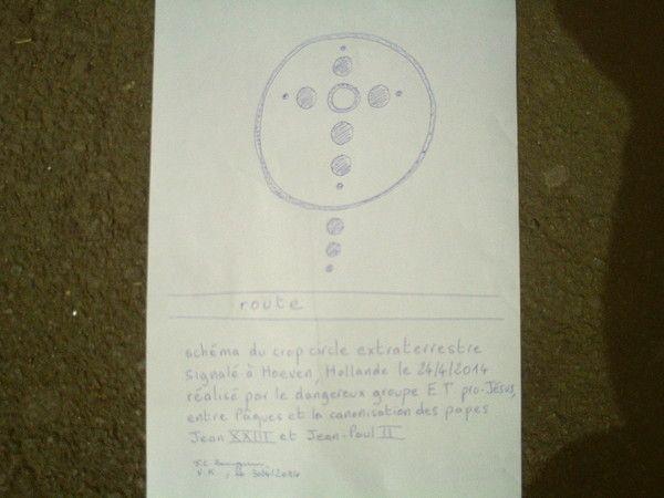 Les crop circles extraterrestres en 37 indices
